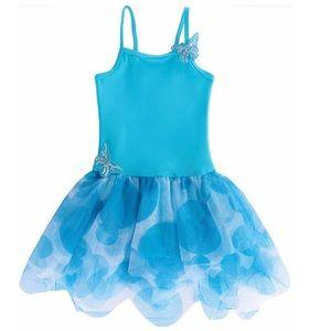 Girls Butterfly tutu Dress 🦋